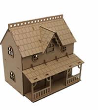 casa wood models